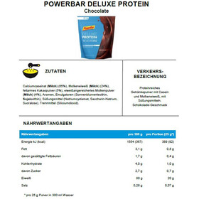 PowerBar Deluxe Protein Pack Chocolate 500g